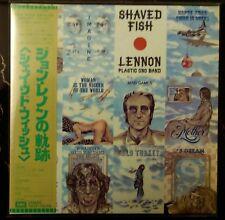 """John Lennon Plastic Ono Band """"Shaved Fish"""" (Mini LP - CD, Japan) TOCP-70398"""