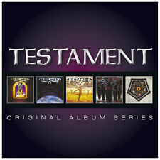 TESTAMENT 5CD NEW The Legacy/New Order/Practice What Preach/Souls Black/Ritual