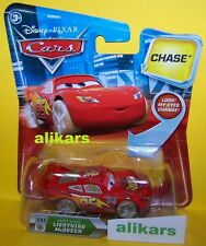"Look ""B - PAINT MASK LIGHTNING McQUEEN - #131 Chase! Disney Cars toy Eyes Change"