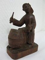 Original Antiguo Tallado De Aprox. 1900 Antiguo Chino Arte Popular