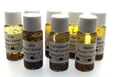Full Set Of 8 Wiccan Sabbat Magickal Oils