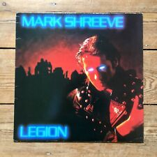 Legion Mark Shreeve vinyl LP album record UK HIP28 JIVE ELECTRO 1985