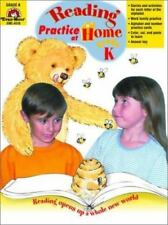 Reading Practice at Home ~ Answer Key ~ Grade K Kindergarten ~ Evan Moor