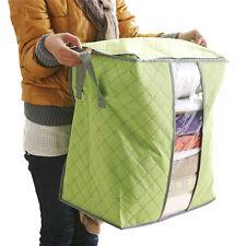 Storage Box Portable Organizer Non Woven Underbed Pouch Storage Box Bag M