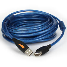 2M 3M 10M Super High Speed USB 2.0 Extension Cable Cord Type A Male Female AMAF