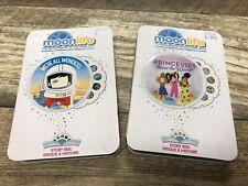2-Pack Bundle Lot Moonlite Storybook Projector Story Reels New Wonders, Princess