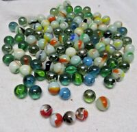Estate Vintage Marbles Lot Swirled Glass FAST SHIPPING!