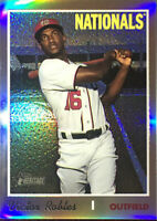 2019 Topps Heritage Chrome High #THC-701 VICTOR ROBLES SP Refractor #557/569