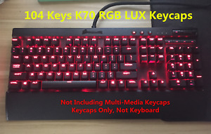 Corsair K70 RGB LUX Strafe RGB Spacebar Keycap Set Wrist Rest Pad Accessories