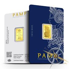 2.5 Gram PAMP Suisse Gold Bar | .9999+ Fine Bullion