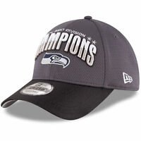 Seattle Seahawks New Era NFL NFC West Division Champions 9Forty Adjustable Hat