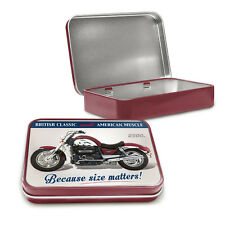 Triumph Rocket III Metal Keepsake Tin Men Gift Storage Official Licensed 50451