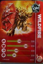 Wildfire Skylanders Trap Team Core Figure Stat Card Only!