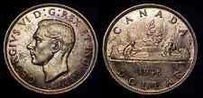 CANADA 1946 Silver Dollar UNC *Toned* ***