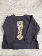 Bonton Bonbon By Bonpoint Liberty Of London Navy Blue Sweatshirt Size 4 Euc