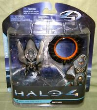 WATCHER Halo 4 Series 1 Action Figure McFarlane Toys HEAVY PACKAGE WEAR