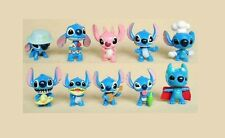 Lilo & Stitch Playset 10 Figure Cake Topper * USA SELLER Toy Doll Set Disney