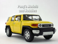 Toyota FJ Cruiser 1/36 Scale Diecast Metal Model by Kinsmart - YELLOW