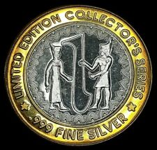HOLLYWOOD CASINO TUNICA, MS $10 LIMITED EDITION .999 FINE SILVER STRIKE