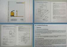 Jungheinrich ERE KmS 20 Betriebsanleitung Operation instructions 1988