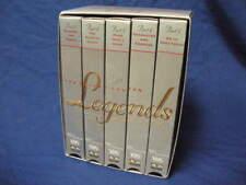 LEGENDS OF HOCKEY SERIES 2 - 5 VHS CASSETTES UPC 043396062320