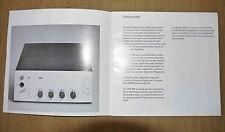 Mode d'emploi d'occasion amplificateur vintage Braun CSV 300 en français