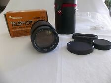 Kamero 135mm f2.8 Lens for Pentax with case..NOS