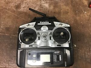 Futaba T6ex 2.4ghz Fasst 6 Channel Transmitter Spares Or Repair