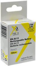2 Pcs EN-EL12 Battery for Nikon Coolpix AW100 P300 S6300 S8100 S9100 S9200 S9300
