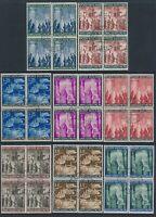 Lot Stamp Italy Vatican Blocks Set CTO