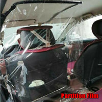 Car Taxi Divider Film Isolation Partition Transparent Protective Cover