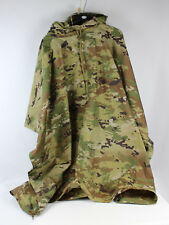 New Multicam OCP Ripstop Nylon Hooded Waterproof Poncho