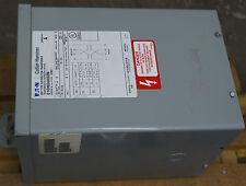 CUTLER HAMMER ELECTRIC TRANSFORMER S10N04A03N KVA 3 3R ENCLOSURE 1PH 120 X 240