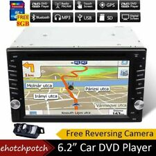Car Radio Stereo GPS Navigation DVD Player Double 2Din 6.2