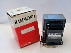 HAMMOND 119Y30 AUDIO AUTOTRANSFORMER LINE MATCHING 60W, LINE OUTPUT 25/70V, NEW