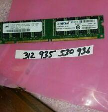 512MB SD 133 CL2 SDRam 133 168pin Ram dual rank non-ecc 32x8 2rx8 intel RAM