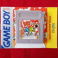 Nintendo Gameboy ► buble buble ◄ módulo + instrucciones