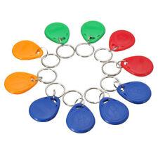 10pcs RFID 125KHz Proximity ID Token Tag Key Keyfobs Chain 125KHZ TK4100