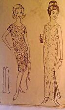 Polynesian Pattern 143 Muu Dress  2 lengths Sewing Pattern Size 14 Cut