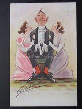Cynicus: Love, Romance & Admiration Theme - Old Comic Postcard by Cynicus