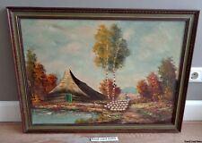 TIMMERS olieverf schilderij op canvas MET LIJST 79x59cm ZONDER 70x50cm painting