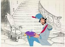 Cinderella Grand Duke and Glass Slipper Production Cel (Walt Disney, 1950) RARE!