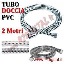 TUBO FLESSIBILE BOX DOCCIA PVC 2Mt PLASTIFICATO BAGNO VASCA LAMINA RIVESTITO