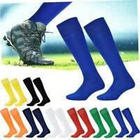 Mens Sport Football Soccer Long Socks Baseball Hockey Over Knee High Sock