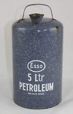 Antike ESSO Petroleum Kanne  emailliert  Tankstelle
