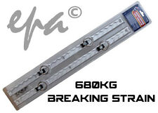 Aluminium Anchor Track 610MM Tie Down Tracking Ute Trailer Bike 4WD 680kg Break