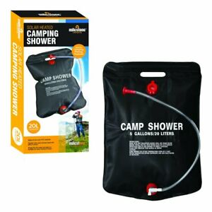 20L Solar Power Water Shower Camping Portable Seaside Sun Compact Heated Outdoor