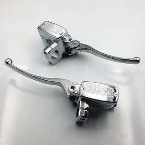 """1"""" 25mm Brake Clutch Master Cylinder Reservoir Lever For Honda VTX1800 2002-2008"""
