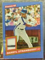 DARRYL STRAWBERRY NEW YORK METS 2020 DONRUSS GAME-USED JERSEY SP HOT! HOT! HOT!!