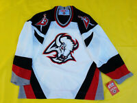 NEW With Tags Buffalo Sabres jersey NWT Mens Medium M White CCM mic Canada GOAT